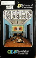 Secret Mission TRS-80 Front Cover