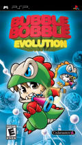 Bubble Bobble Evolution PSP Front Cover