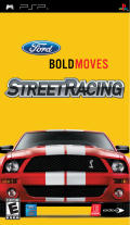 Ford Bold Moves Street Racing PSP Front Cover