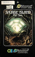 Savage Island Part Two Atari 8-bit Front Cover