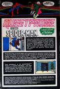 Spider-Man ZX Spectrum Back Cover