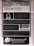 Questprobe: Featuring Human Torch and the Thing DOS Back Cover