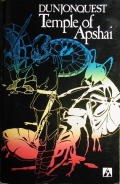 Dunjonquest: Temple of Apshai TRS-80 Front Cover