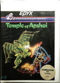 Dunjonquest: Temple of Apshai Commodore 64 Front Cover