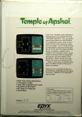 Dunjonquest: Temple of Apshai Commodore 64 Back Cover