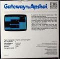 Gateway to Apshai Commodore 64 Back Cover