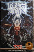 Rings of Zilfin Commodore 64 Front Cover