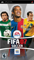 FIFA Soccer 07 PSP Front Cover