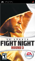 Fight Night Round 3 PSP Front Cover