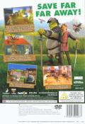 Shrek the Third PlayStation 2 Back Cover