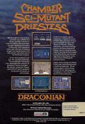 Chamber of the Sci-Mutant Priestess Amiga Back Cover