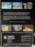 The Quest Atari 8-bit Back Cover