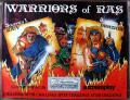 Warriors of Ras Commodore 64 Front Cover