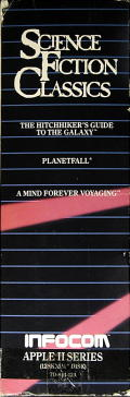 Science Fiction Classics Apple II Other Spine