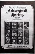Adventure Series TI-99/4A Front Cover