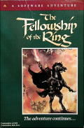 The Fellowship of the Ring Commodore 64 Front Cover