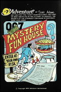 Mystery Fun House Atari 8-bit Front Cover