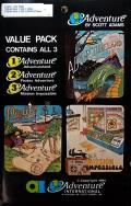 Adventure Value Pack #1 Atari 8-bit Front Cover