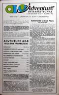 Adventure Value Pack #2 Apple II Back Cover