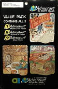 Adventure Value Pack #3 Atari 8-bit Front Cover