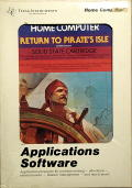 Return to Pirate's Isle TI-99/4A Front Cover