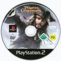 Disney Pirates of the Caribbean: At World's End PlayStation 2 Media