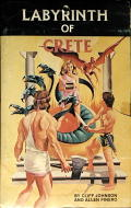 Labyrinth of Crete Commodore 64 Front Cover