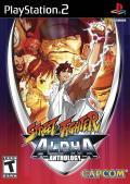 Street Fighter Alpha Anthology PlayStation 2 Front Cover