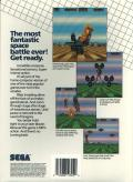 Space Harrier Amiga Back Cover