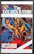 The Golden Baton Atari 8-bit Front Cover