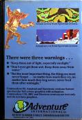 Gremlins: The Adventure ZX Spectrum Back Cover