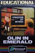 Olin in Emerald Atari 8-bit Front Cover