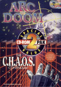 CD-ROM 2 Pak: Arc of Doom and the C.H.A.O.S. Continuum Windows 3.x Front Cover