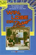 Win, Lose, or Draw DOS Front Cover
