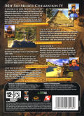 Civilization IV Dreierpack Windows Other Civilization IV - Slipcase - Back