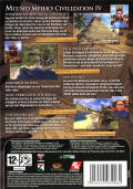 Civilization IV Dreierpack Windows Other Civilization IV - Keep Case - Back
