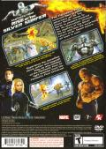 Fantastic Four: Rise of the Silver Surfer PlayStation 2 Back Cover