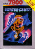 Winter Games Atari 7800 Front Cover