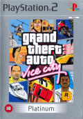 Grand Theft Auto: Vice City PlayStation 2 Front Cover