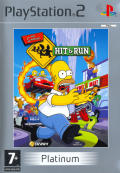 The Simpsons: Hit & Run PlayStation 2 Front Cover