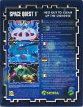 Space Quest I: Roger Wilco in the Sarien Encounter Amiga Back Cover