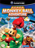 Super Monkey Ball Adventure GameCube Front Cover