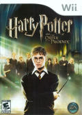 Harry Potter and the Order of the Phoenix Wii Front Cover