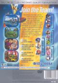 Sonic Heroes PlayStation 2 Back Cover