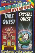 Double Play Adventure: Time Quest / Crystal Quest ZX Spectrum Front Cover