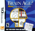 Brain Age²: More Training in Minutes a Day! Nintendo DS Front Cover