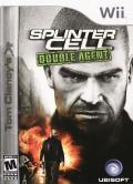 Tom Clancy's Splinter Cell: Double Agent Wii Front Cover