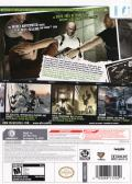 Tom Clancy's Splinter Cell: Double Agent Wii Back Cover
