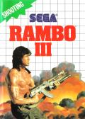 Rambo III SEGA Master System Front Cover