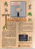 Telengard Commodore 64 Back Cover
